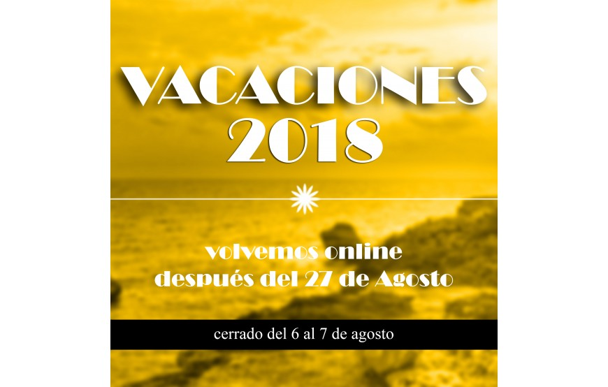 AUGUST VACATION - VACANCES AOÛT 2018